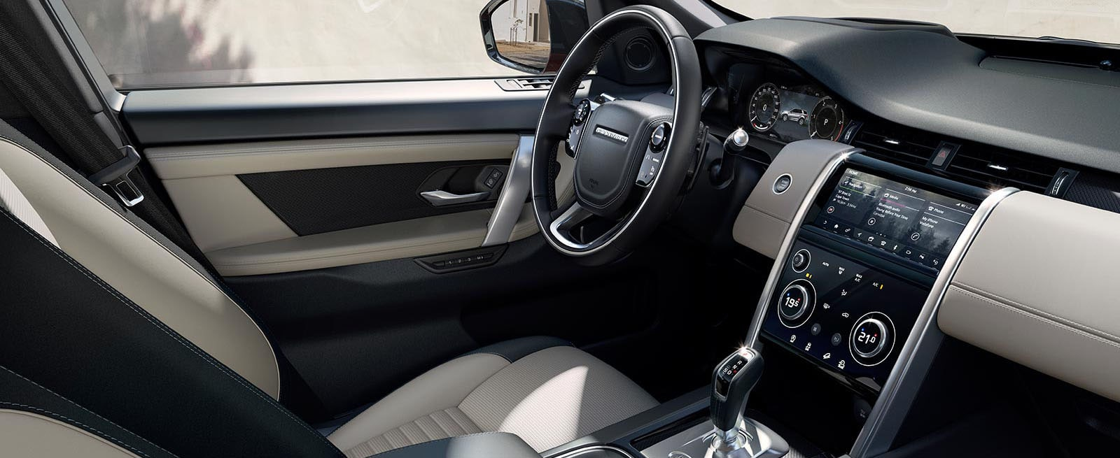 Interior Of The Discovery Sport