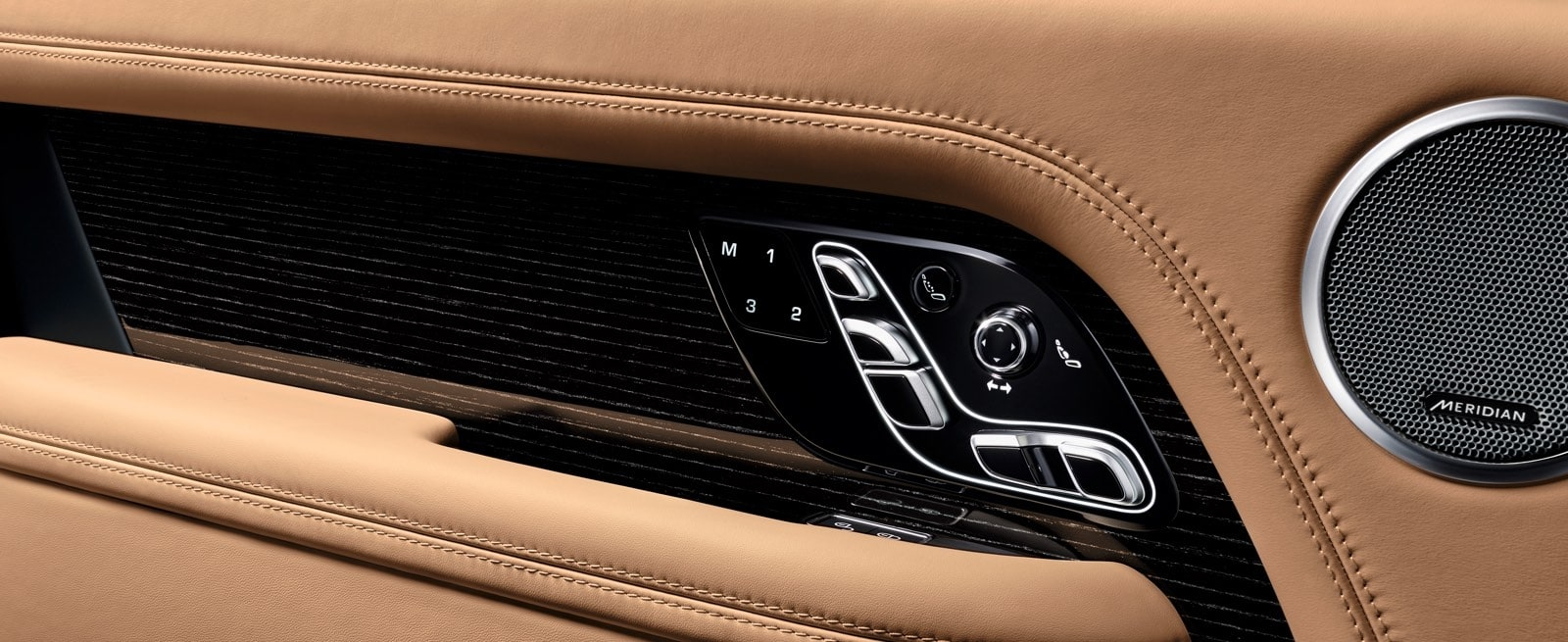 Range Rover Interior Seat Adjustment Controls